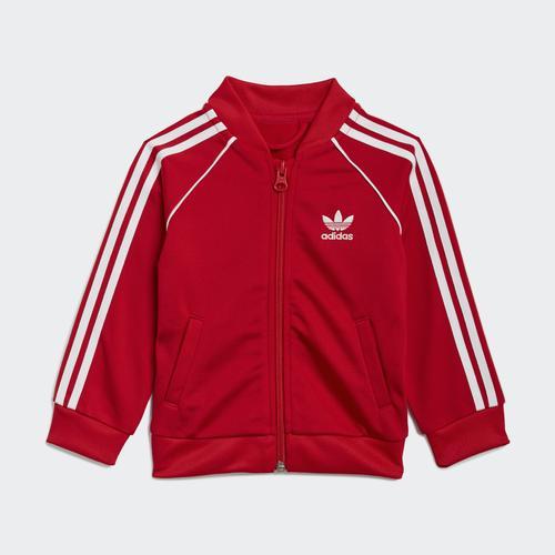 adidas Adicolor SST Bebek Kırmızı Eşofman Takımı (GN8439)