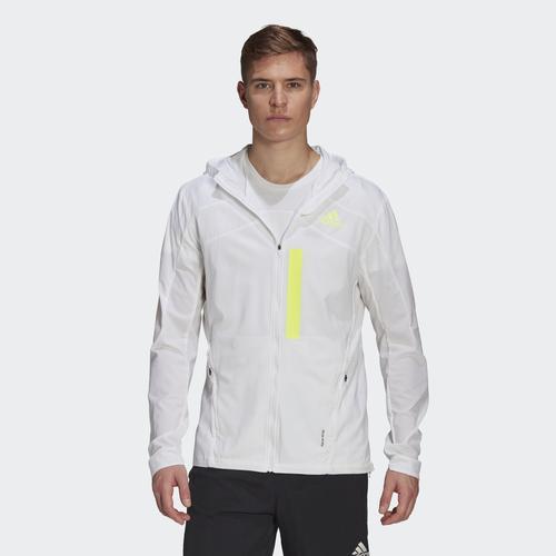 adidas Marathon Translucent Erkek Beyaz Rüzgarlık (GK4305)