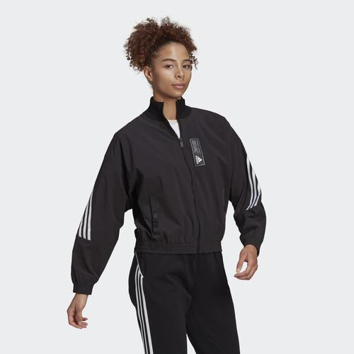 adidas Sportswear Aeroknit Kadın Siyah Ceket (GE5494)