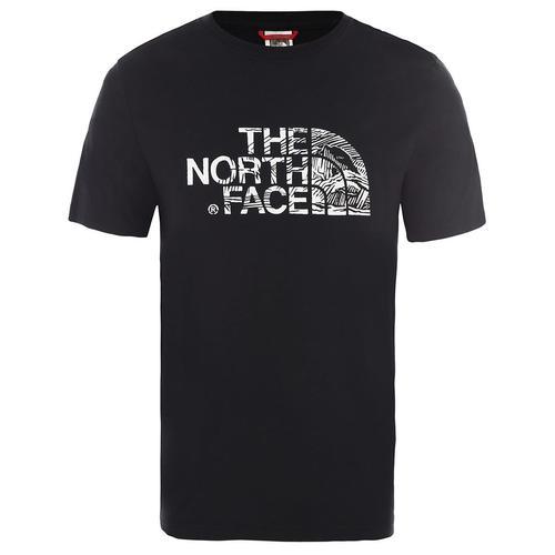 The Nort Face Woodcut Dome Erkek Siyah Tişört (NF00A3G1JK31)