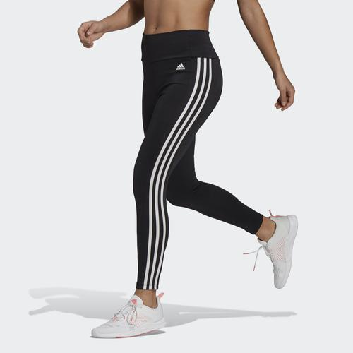 adidas Designed To Move High-Rise 3-Stripes 7/8 Kadın Siyah Tayt (GL4040)