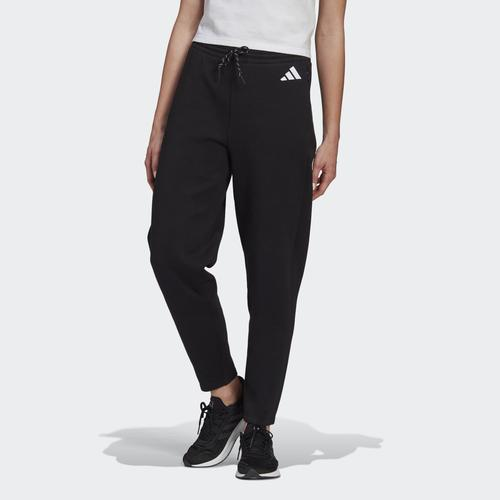 adidas Sportswear Doubleknit 7/8 Kadın Siyah Eşofman Altı (GL9475)