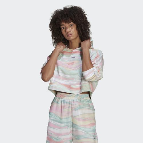 adidas R.Y.V. Crop Kadın Sweatshirt (GN4292)