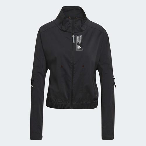 adidas Sportswear Primeblue Kadın Siyah Ceket (GL9522)