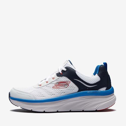 Skechers D'lux Walker Erkek Beyaz Spor Ayakkabı (232044-WBLR)