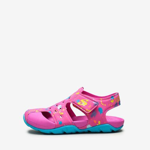 Skechers Side Wave Çocuk Pembe Sandalet (86428N-HPTQ)