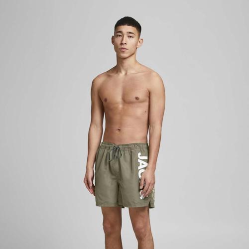 Jack & Jones Bali Erkek Yeşil Mayo Şort (12183806-DO)
