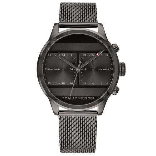 Tommy Hilfiger Watches Erkek Siyah Kol Saati (TH1791597)