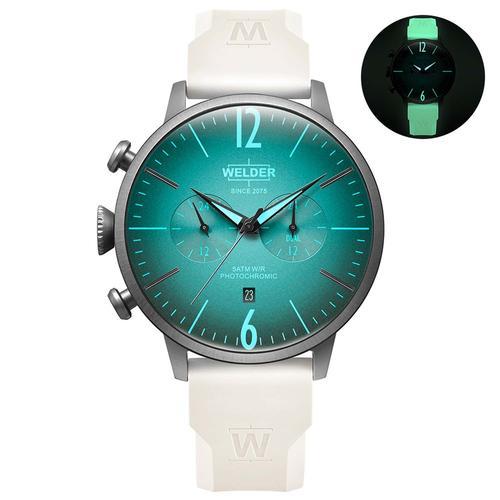Welder Moody Erkek Beyaz Kol Saati (WWRC1034)