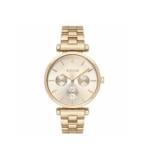 Wesse Kadın Altın Rengi Kol Saati (WWL108405)