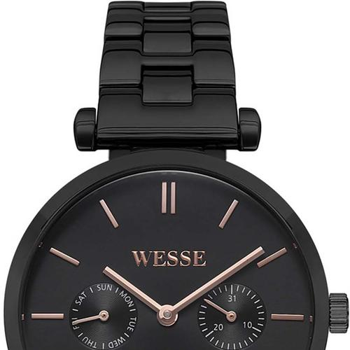 Wesse Kadın Siyah Kol Saati (WWL108403)