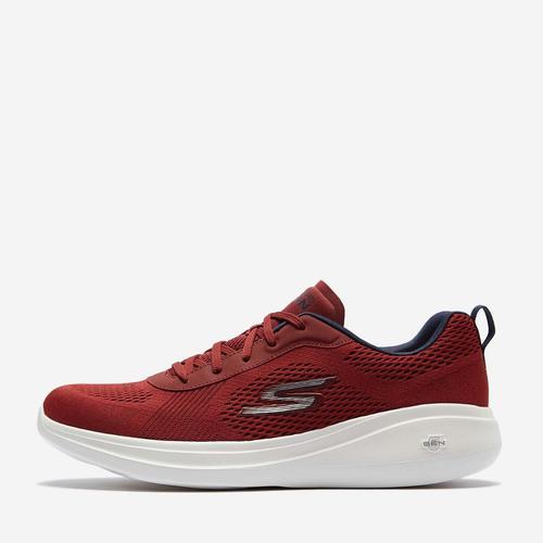 Skechers Go Run Fast Erkek Kırmızı Koşu Ayakkabısı (55106-BURG)