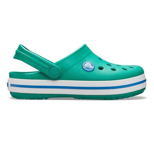 Crocs Crocband Clog Çocuk Yeşil Sandalet (204537-3TV)