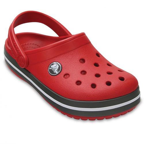 Crocs Crocband Clog Çocuk Kırmızı Sandalet (204537-6IB)