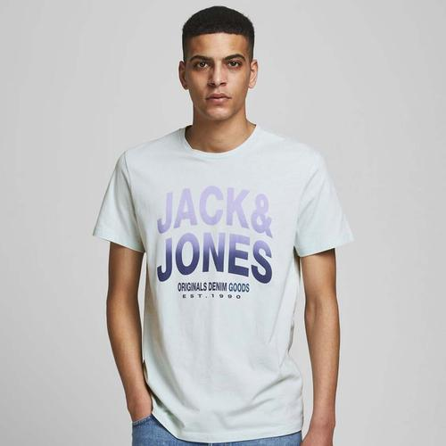 Jack & Jones Saturn Erkek Beyaz Tişört (12189700-PBJ)