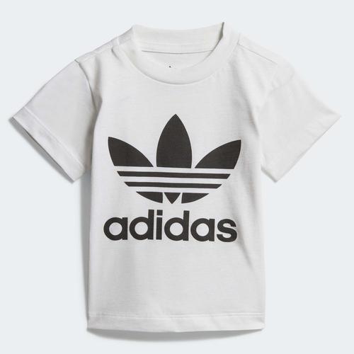 adidas Trefoil Bebek Beyaz Tişört (DV2828)