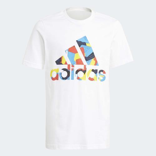 adidas x Classic LEGO® Graphic Çocuk Beyaz Tişört (GJ6494)