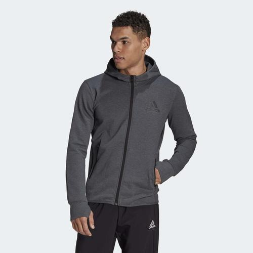 adidas Designed To Move Motion Erkek Gri Ceket (GM2078)
