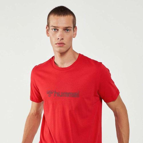 Hummel Naples Erkek Kırmızı Tişört (911335-3331)