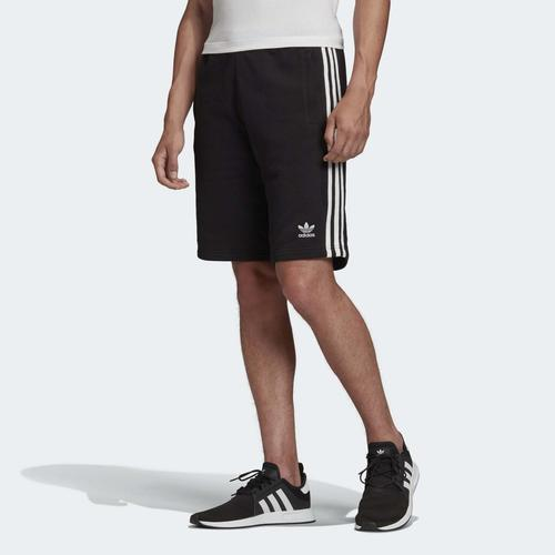 adidas 3 Bantlı Erkek Siyah Şort (DH5798)