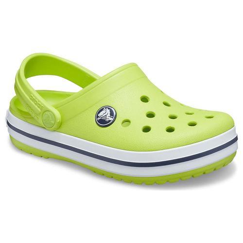 Croscs Crocband Clog Çocuk Yeşil Sandalet (204537-3TX)