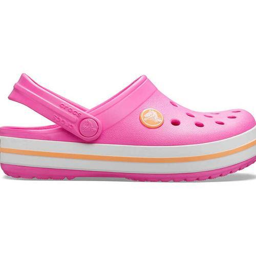 Crocs Crocband Clog Çocuk Pembe Sandalet (204537-6QZ)