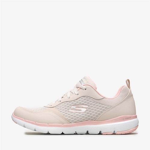 Skechers Flex Appeal 3.0 Go Forward Kadın Pembe Spor Ayakkabı (S13069-NTPK)