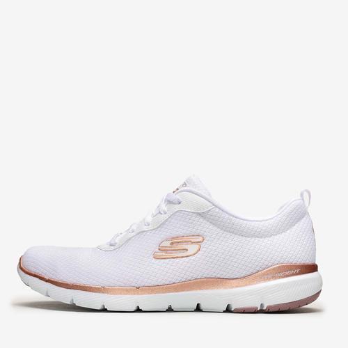 Skechers Flex Appeal 3.0 Kadın Beyaz Spor Ayakkabı (S13070-WTRG)