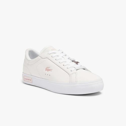Lacoste Powercourt 0921 Kadın Beyaz Spor Ayakkabı (741SFA0082.1Y9)