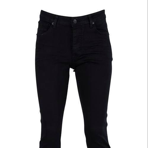 Five Pocket Bartez Erkek Siyah Jean Pantolon (7500-F1331)