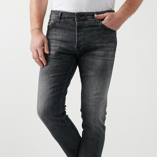 Five Pocket Bartez Erkek Antrasit Jean Pantolon (7510-F203)