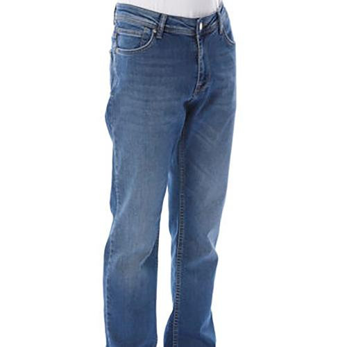 Five Pocket New Artos Erkek Mavi Jean Pantolon (7508-E188)
