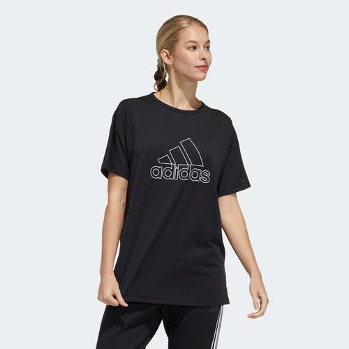 adidas Sport Kadın Siyah Tişört (GM0685)