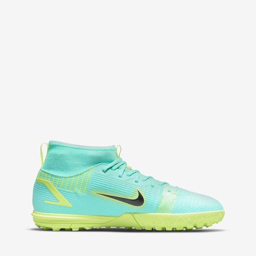 Nike Jr. Mercurial Superfly 8 Academy Çocuk Yeşil Halı Saha Ayakkabısı (CV0789-403)
