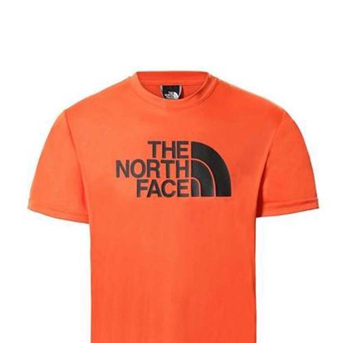 The North Face Reaxion Easy Erkek Turuncu Tişört (NF0A4CDVV3Q1)