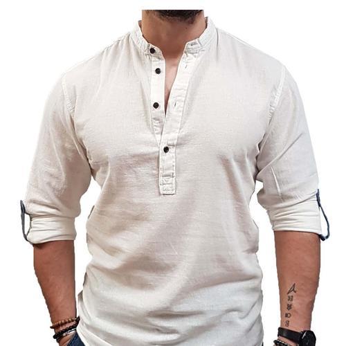 Jack & Jones Sunny Erkek Beyaz Gömlek (12187979-CD)