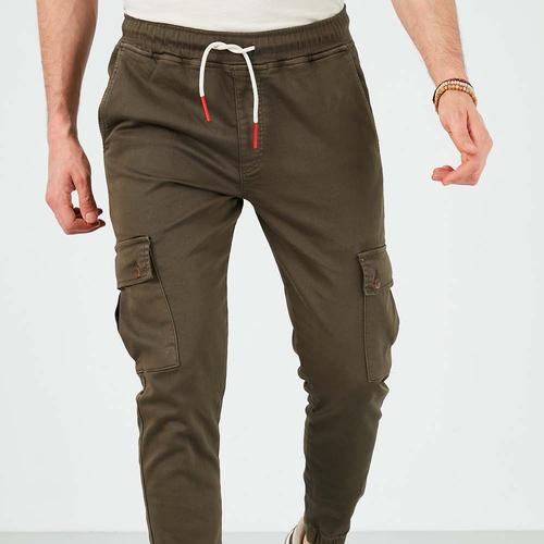 Five Pocket Jordan Erkek Haki Pantolon (7511-H0461)