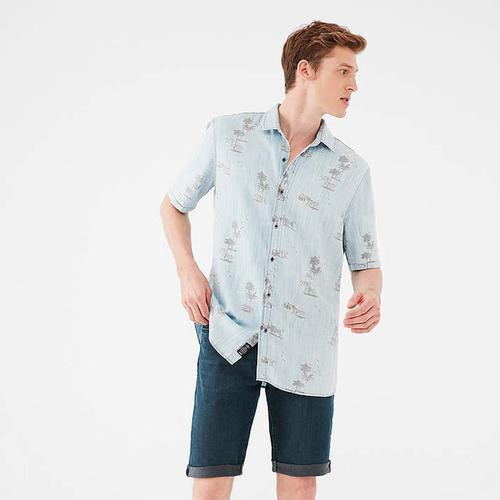 Mavi Nicholas Mavi Premium Erkek Koyu Mavi Jean Şort (0416033961)