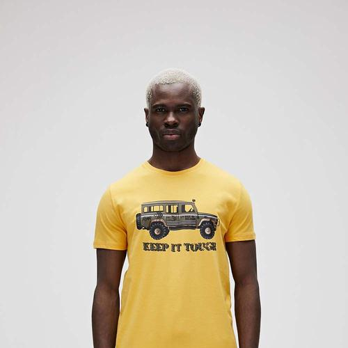 Bad Bear Keep It See Erkek Sarı Tişört (21.01.07.029.SE)