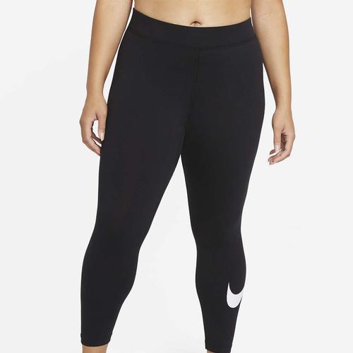 Nike Sportswear Essential Swoosh Kadın Siyah Tayt (DC6934-010)