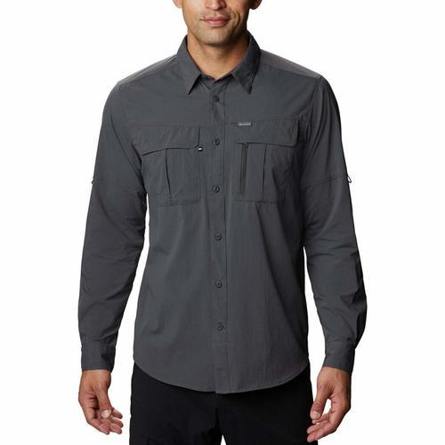 Columbia Long Sleeve Erkek Gri Outdoor Gömlek (AO0762-011)