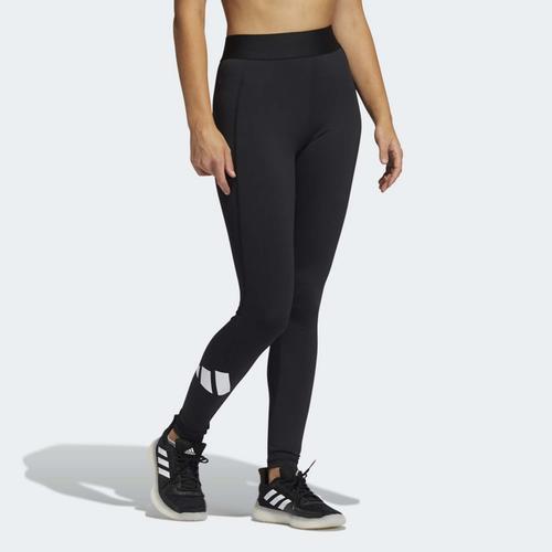 adidas Techfit Life Mid-Rise Badge of Sport Long Kadın Siyah Tayt (GM2986)