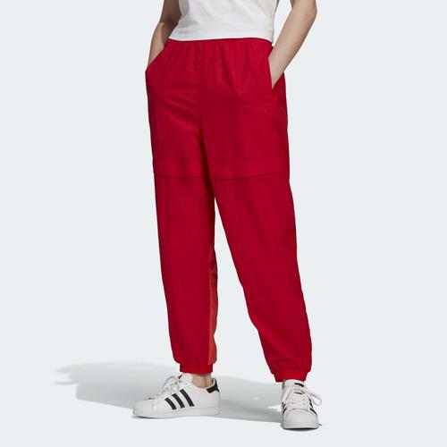 adidas Adicolor Sliced Trefoil Japona Kadın Kırmızı Eşofman Altı (GN2826)