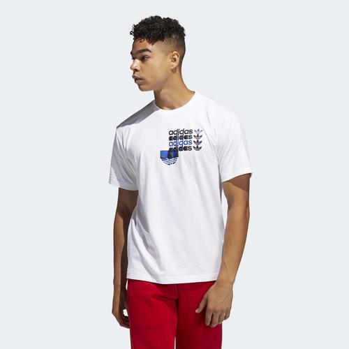 adidas Forum Erkek Beyaz Tişört (GN3868)