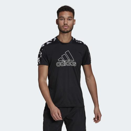 adidas Own The Run Celebration Erkek Siyah Tişört (GM1592)