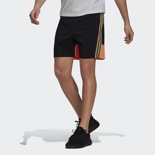 adidas Sportswear Woven 3-Stripes Erkek Siyah Şort (GL5676)