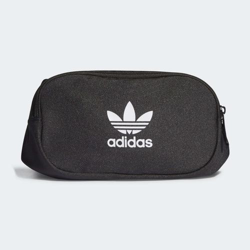 adidas Adicolor Branded Webbing Siyah Bel Çantası (H35587)