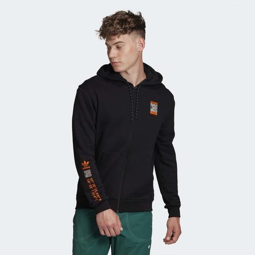 adidas Adventure Erkek Siyah Ceket (GD5985)