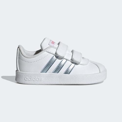 adidas Vl Court 2.0 Cmf Çocuk Beyaz Spor Ayakkabı (GZ7669)