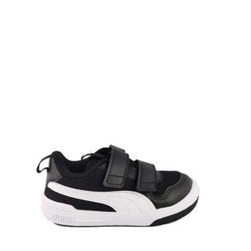 Puma Multiflex Mesh Çocuk Siyah Spor Ayakkabı (380846-01)